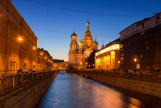 Blue Blood | Church on Spilled Blood, St. Petersburg, Russia