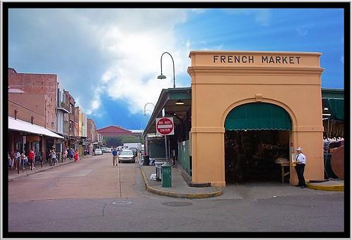 New Orleans Louisiana - French Market - Historic