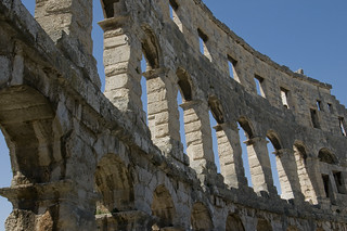 Pula amphitheatre / Amfiteatar u Puli