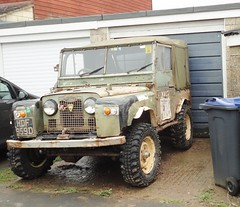 1966 LAND ROVER (shagracer) Tags: hdf959d 4x4 awd 4wd mud muddy plugger off road roader green lane greenlane wide wheels tyres