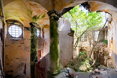Relinquished | Cracked (James Kerwin Photographic) Tags: cracked monastery italy abandoned decay green overgrown art series decaying relinquished jameskerwin photoshop lightroom magazines future history explore ruins excellent wrecks relics