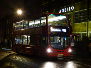 The First Southbound Metroline N31