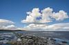 Höytiäinen - Finland (Sami Niemeläinen (instagram: santtujns)) Tags: kontiolahti puntarikoski höytiäinen suomi finland häikänniemi spring kevät ice jää lake järvi luonto nature sky taivas pohjoiskarjala north carelia