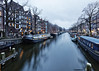 Amsterdam. (alamsterdam) Tags: brouwersgracht amsterdam canal longexposure houseboats reflections architecture bluehour bridge