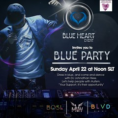 BLUE PARTY - BLUE HEART EVENT (MISS VIRTUAL ♛ WORLD 2018 - Shantal Gravois) Tags: blue heart event blueheartevent shantalgravois missvirtualworld2018 missv♛venezuela2018 bosl miss virtual world organization blvd