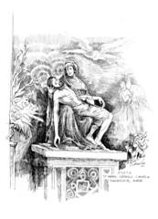 Pieta, St. Mark parish, Shoreline WA (Archdiocese of Seattle Archives) Tags: statues catholicchurch shoreline washington pieta michelangelo renaissance archdioceseofseattle jesus