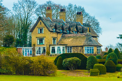 The beautiful home of the Broadman family, now a trust and nature reserve. (Geordie_Snapper) Tags: 2470mm bactonholiday canon7d2 eastanglia howhill howhilltrusthouse ludham march norfolk overcast spring england unitedkingdom gb