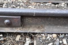 1890 Rail Hespeler (Ace31_2010) Tags: rail train tracks 1890 hespeler steel