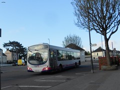 WX54XCN (jeff.day48) Tags: wx54xcn 66728 volvo b7rle wright eclipse 19 firstwestofengland downendroad downend southgloucestershire