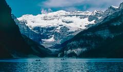 Lake Louise: Alberta Canada: July 1987 (mharoldsewell) Tags: 1987 alberta canada canadianrockies georgia july kodachrome lakelouise minolta xe7 mharoldsewell mikesewell photos slides