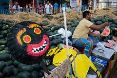 watermelon (SaumalyaGhosh.com) Tags: people color india street streetphotography fuji fujifilm xt2 sell seller ghost kolkata