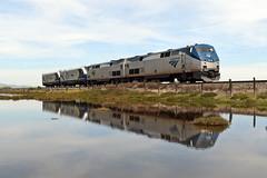 Amtrak 939 (caltrain927) Tags: union pacific railroad amtrak california special engine light move siemens sc44 charger caltrans ge p42dc bahia benicia ca
