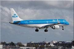 Embraer ERJ-190STD, KLM, PH-EXV (OlivierBo35) Tags: spotting nte nantes embraer klm erj190