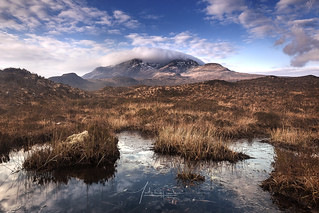 Sligachan Cuillin Mountains Isle of Skye Scotland