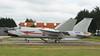 Awaiting its F8 (ƒliçkrwåy) Tags: 11 vought f8 f8p crusader landivisau military aviation aircraft aeronavalr marine france