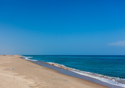 Empty beach, North-Western province, Berbera, Somaliland