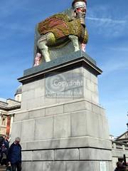 Fourth plinth in Trafalgar Square 2018 (10) rs (Barryoneoff) Tags: trafalgarsquare fourthplinth nelson themall pallmall lamassu
