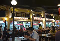 Wanton Mee Noodle (Luzon Jim) Tags: people food atmosphere restaurant table wood indoor dish nikon serve eat dine camera light window sign
