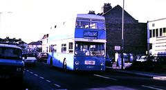 Slide 116-53 (Steve Guess) Tags: dms daimler fleetline ensign ensignbus lrt london regional transport essex barking dagenham redbridge route145 a216 ghm793n