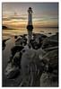 """Perch Rock Sunset"" Luminar 2018 Revised. (Ray Mcbride Photography) Tags: lighthouse perchrock newbrighton"
