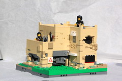Syrian Rebel Outpost (ModernBrix) Tags: syria rebel groups lego flickr moc own creation brickmania citizen brick modernbrix modern brix custom military army middle east architecture
