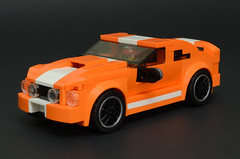 2008 Ford Mustang GT (HotDogSandwiches) Tags: lego moc speed champions