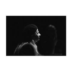 (Monica Muzzioli) Tags: portrait bw blackandwhite light theatre play performance actress monochromatic monochrome mono black dof profile
