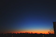 i can feel it (viewsfromthe519) Tags: sunset sun stthomas ontario sky skyscape clouds silhouette blue orange yellow golden trees canada evening spring