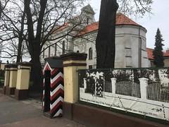 Brama dawnych koszar 10 Pułku Piechoty im Marszałka Józefa Piłsudskiego w Łowiczu