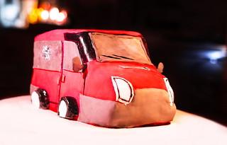 Motiv Cake: Red Car