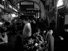 Lucca effetto cinema (lauratintori) Tags: aroundpeople pointofview greattime happytime friend friends lauratintoriph detail details photography photo ph gray white black blackandwhite blackandwhitephoto dance dancing disco trapmusic djs dj rapmusic party people cinema lucca rewinebar rewine bar music trap rap
