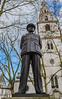 Sir Arthur -Bomber- Harris Statue - RAF Church (St Clements Danes) Strand (Fujifilm X100F) (1 of 1) (markdbaynham) Tags: fuji fujifilm fujista x100f fujix transx fujix100f apsc fixedlens primelens compact london londonist londoner capital capitalcity gb uk centrallondon urban metropolis