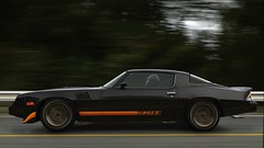 Camaro Z28   GTA V (Stellasin) Tags: blur camaro darkness beauty gaming game dark car cars beautiful chevrolet mods road weather reflection people graphics gtav gta grass hot highway photography motion overcast mountains trees screenshot v akina initial d