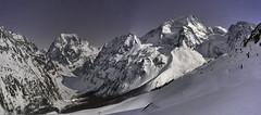 Val d'Hérens at midnight (Karl Le Gros) Tags: valdhérens cantonduvalais switzerland swissalps alps xaviervonerlach mountains nightscape montcollon pignedarolla arolla pragra panorama