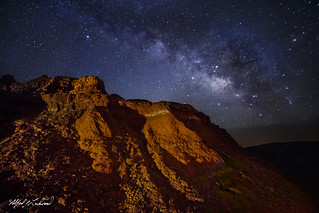 Milky Way In Caprock Canyon_MG_1525