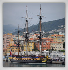 L'Hermione, escale à Nice ! (Save planet Earth !) Tags: france nice port hermione bateau boat frégate amcc nikon