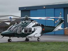G-SASX Leonardo SPA 169 Helicopter Specialist Aviation Services Ltd (Aircaft @ Gloucestershire Airport By James) Tags: gloucestershire airport gsasx leonardo spa 169 helicopter specialist aviation services ltd egbj james lloyds