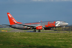 G-JZBI Boeing B737-8MG EGPH 24-04-18 (MarkP51) Tags: gjzbi boeing b7378mg b737 jet2 ls exs edinburgh airport edi egph scotland aviation aircraft airplane plane image markp51 sunshine sunny airliner nikon d7200 aviationphotography