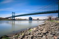 RFK Bridge (Jemlnlx) Tags: canon eos 5d mark iv 4 5d4 5div ef 1635mm f4 l is usm new york city ny nyc tiffen bw filter filters stacked gnd nd graduated neutral density 30 10stop circular polarizer rfk bridge randalls island