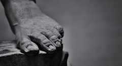 David (ROSS HONG KONG) Tags: toe toes foot statute marble david michelangelo sculpture black white blackandwhite bw florence italy accademia leica m8 095 noctilux
