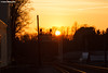 Gone the Sun (nrvtrains) Tags: christiansburg christiansburgdistrict cambriast sunset norfolksouthern cambria virginia unitedstates us