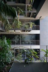 2018-04-FL-183514 (acme london) Tags: barcelona corridor fira fireescape hotel jeannouvel landscape planting renaissancehotelfira spain staricase