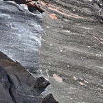 Rhyodacite vitrophyre (Llao Rock Rhyodacite, Holocene, ~7.8-7.9 ka; roadcut near Llao Rock, margin of Crater Lake Caldera, Oregon, USA) 56 thumbnail