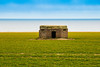 Old Pill box still guarding the coast after all these years. (Geordie_Snapper) Tags: 2470mm bactonholiday canon7d2 eastanglia happisburgh happisburghcoast landscape march norfolk overcast spring wwiipillbox