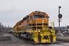 CP Falls Creek (Dan A. Davis) Tags: buffalopittsburgh bprr bp geneseewyoming gnwr gw sd403 siri freighttrain train locomotive railroad pa pennsylvania dubois
