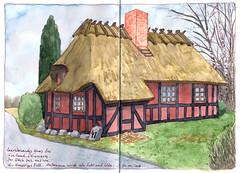 Haus auf Fünen 2 (KatrinMerle) Tags: katrinmerle dänemark fünen haus house fachwerkhaus