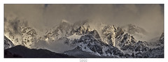 Picos de gala/ Mountains in evening dress (Jose Antonio. 62) Tags: spain españa picosdeeuropa mountains montañas snow nieve clouds nubes naturaleza