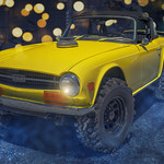 Monster Jacked Up Triumph TR6 (The Vintage Meltdown 2018) thumbnail