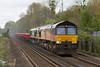 Shawford - 23/04/18 (davekirwinphotography (Railway)) Tags: 66fred colas shawford wagon class66 shed lobster mxa freightliner 6y48 hoo 66850 66506