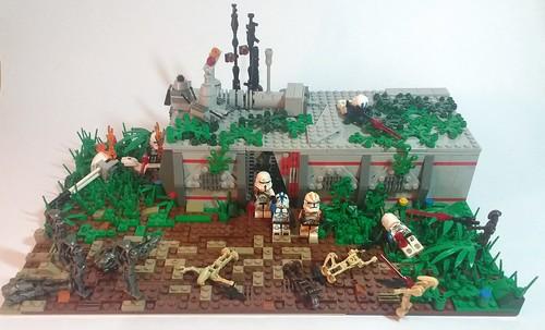 Lego Star Wars MOC Abandoned Clone base